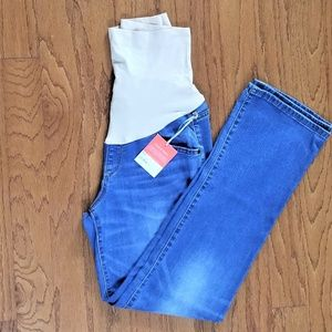 Maternity Jeans Bootcut Blue Sizes 8 & 10 NWT